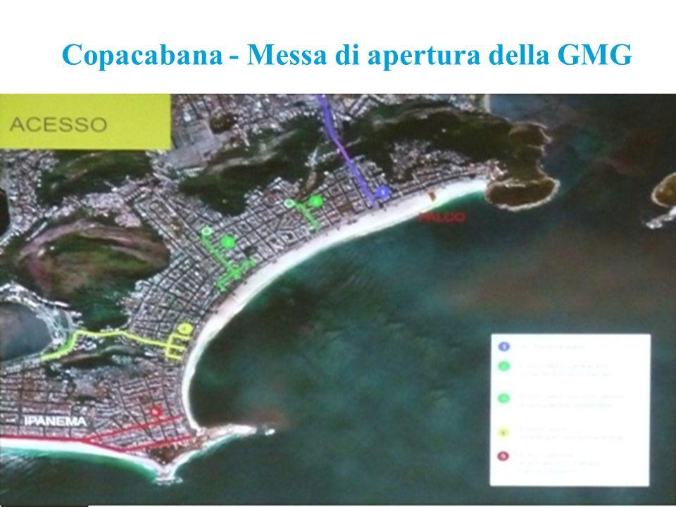 Copacabana - Messa di apertura della GMG