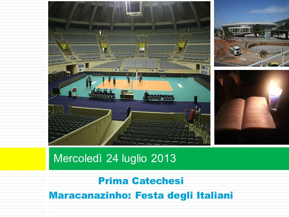 Maracanazinho: Festa degli Italiani