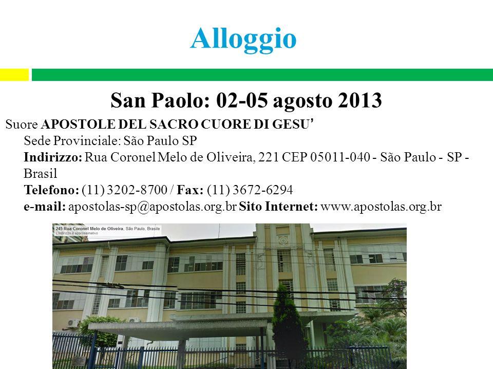 Alloggio San Paolo: 02-05 agosto 2013