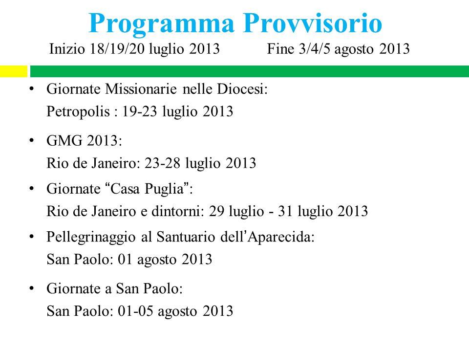 Programma Provvisorio