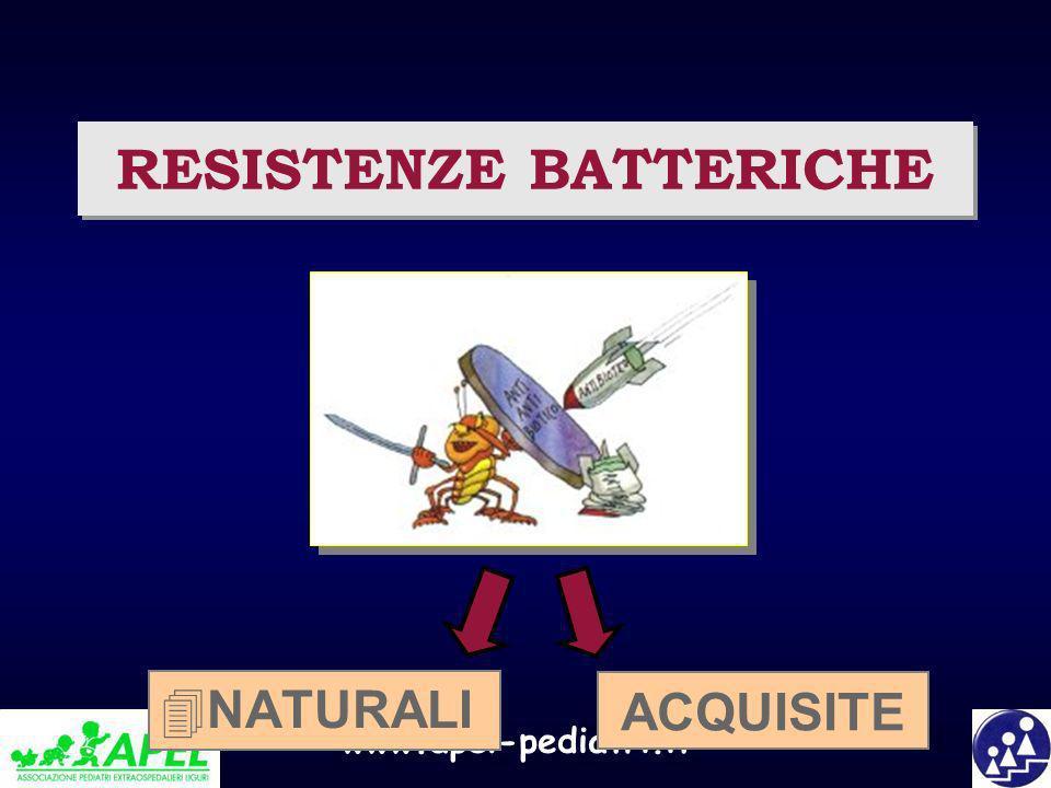 RESISTENZE BATTERICHE