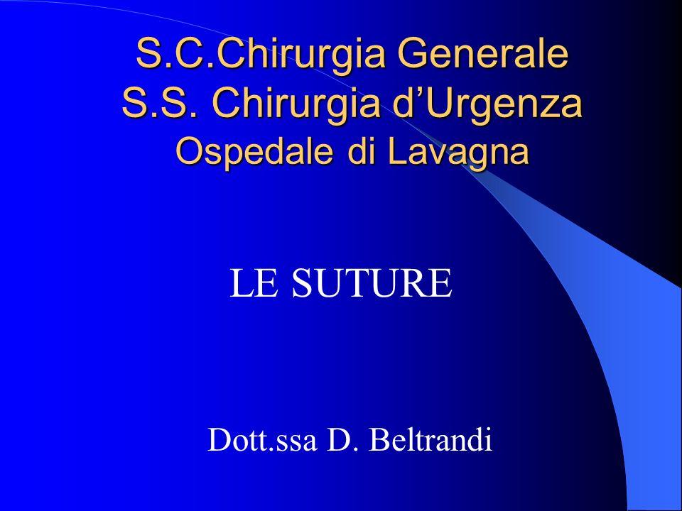 S.C.Chirurgia Generale S.S. Chirurgia d'Urgenza Ospedale di Lavagna