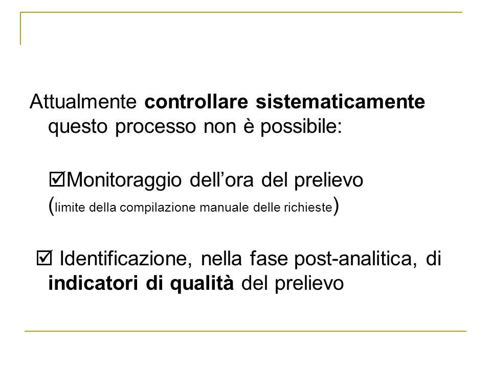 Attualmente controllare sistematicamente questo processo non è possibile: