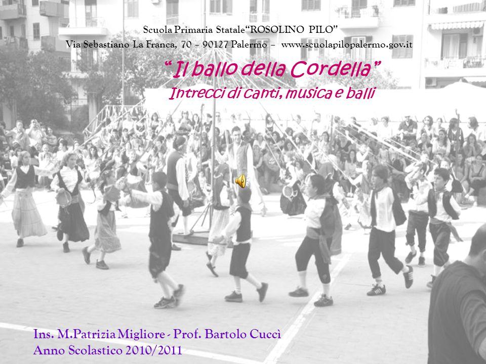 Il ballo della Cordella Intrecci di canti, musica e balli