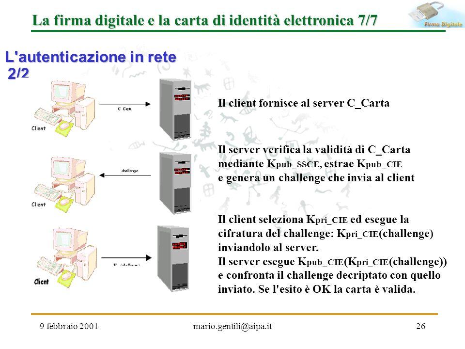 La firma digitale e la carta di identità elettronica 7/7