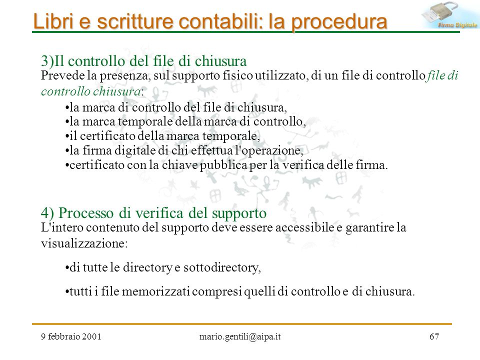Libri e scritture contabili: la procedura
