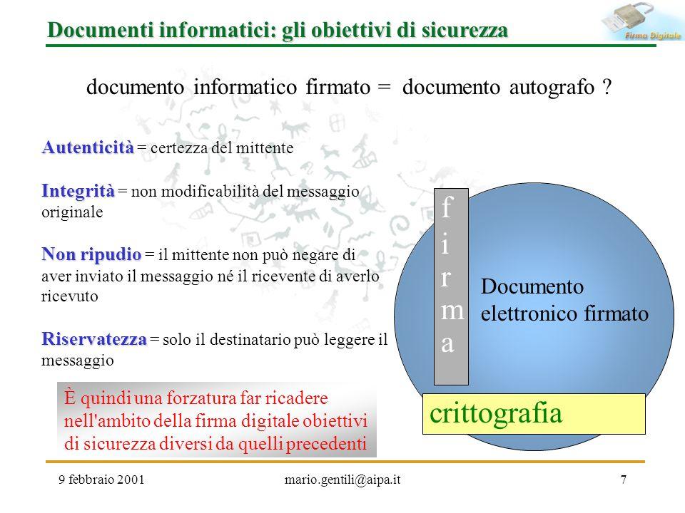 documento informatico firmato = documento autografo
