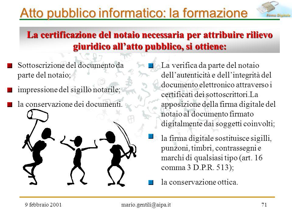 Atto pubblico informatico: la formazione