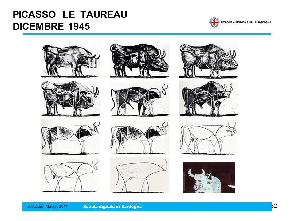 PICASSO LE TAUREAU DICEMBRE 1945