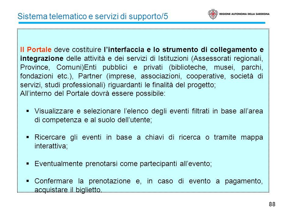 Sistema telematico e servizi di supporto/5