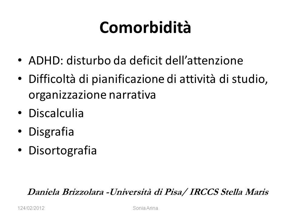 Comorbidità ADHD: disturbo da deficit dell'attenzione