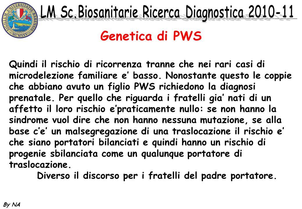 Genetica di PWS