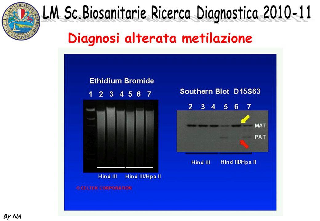 Diagnosi alterata metilazione