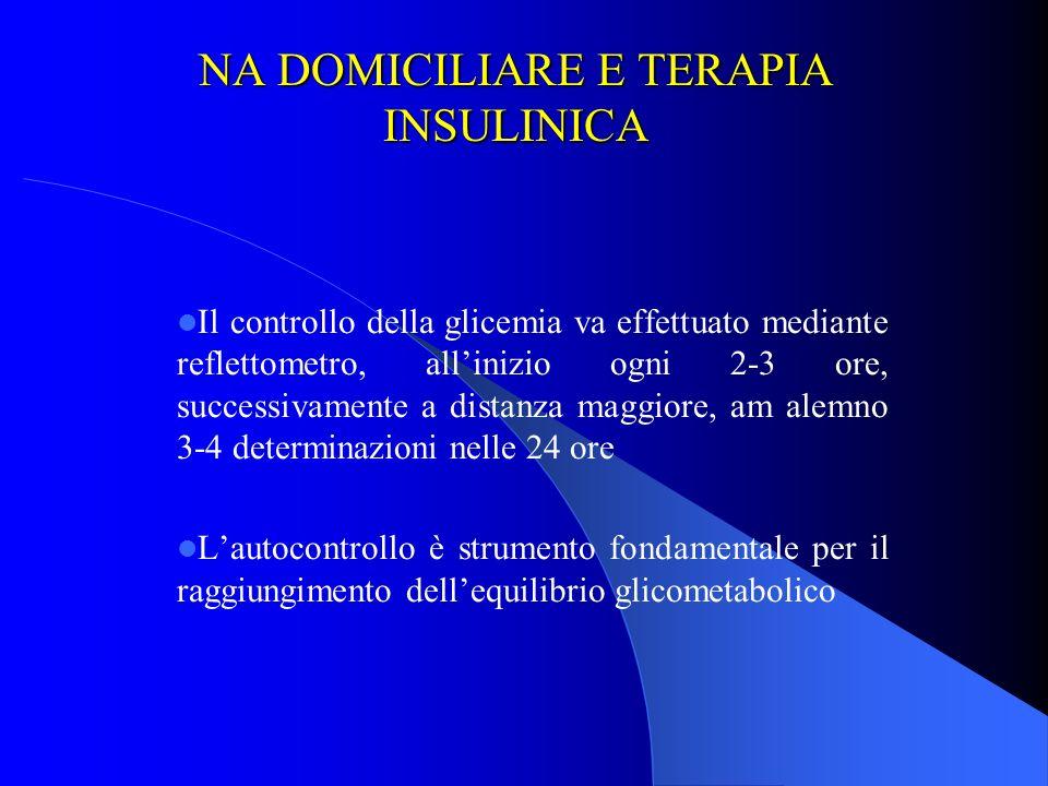 NA DOMICILIARE E TERAPIA INSULINICA