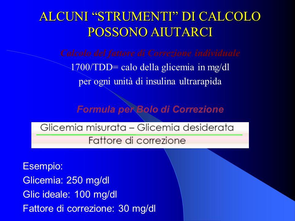 ALCUNI STRUMENTI DI CALCOLO POSSONO AIUTARCI