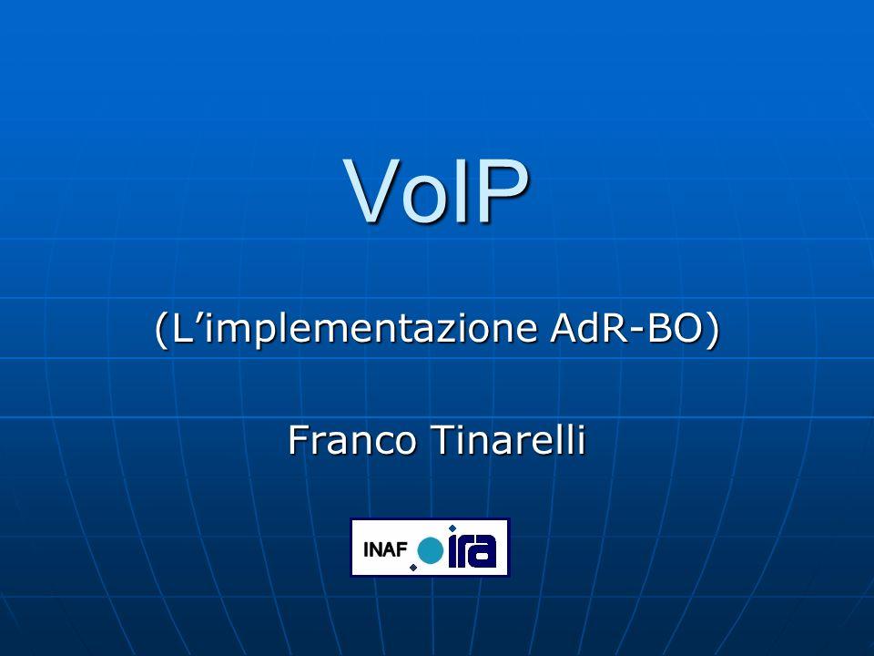 (L'implementazione AdR-BO) Franco Tinarelli