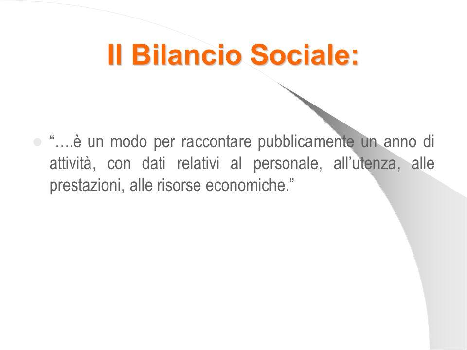 Il Bilancio Sociale: