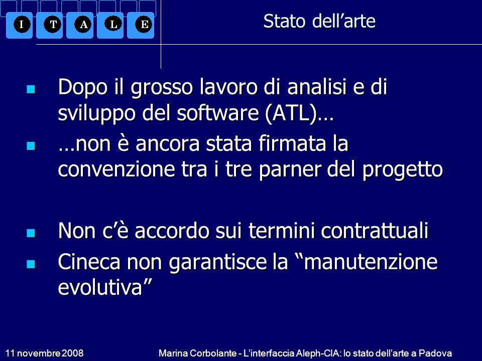 Dopo il grosso lavoro di analisi e di sviluppo del software (ATL)…
