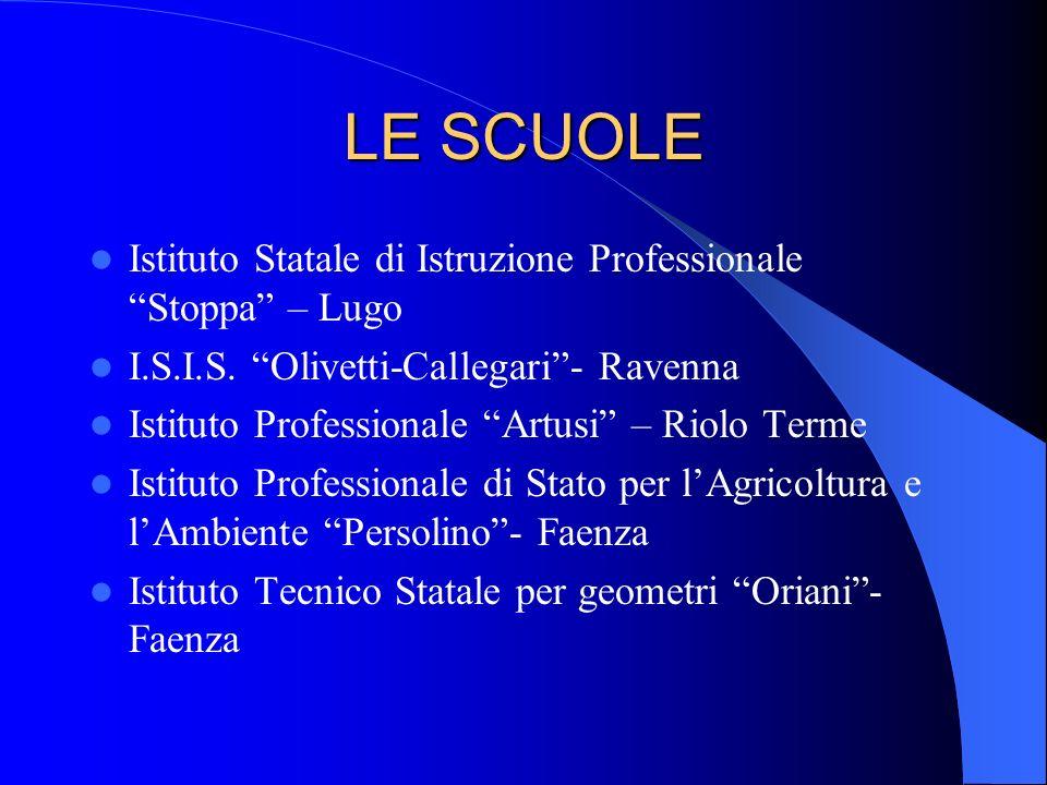 LE SCUOLE Istituto Statale di Istruzione Professionale Stoppa – Lugo