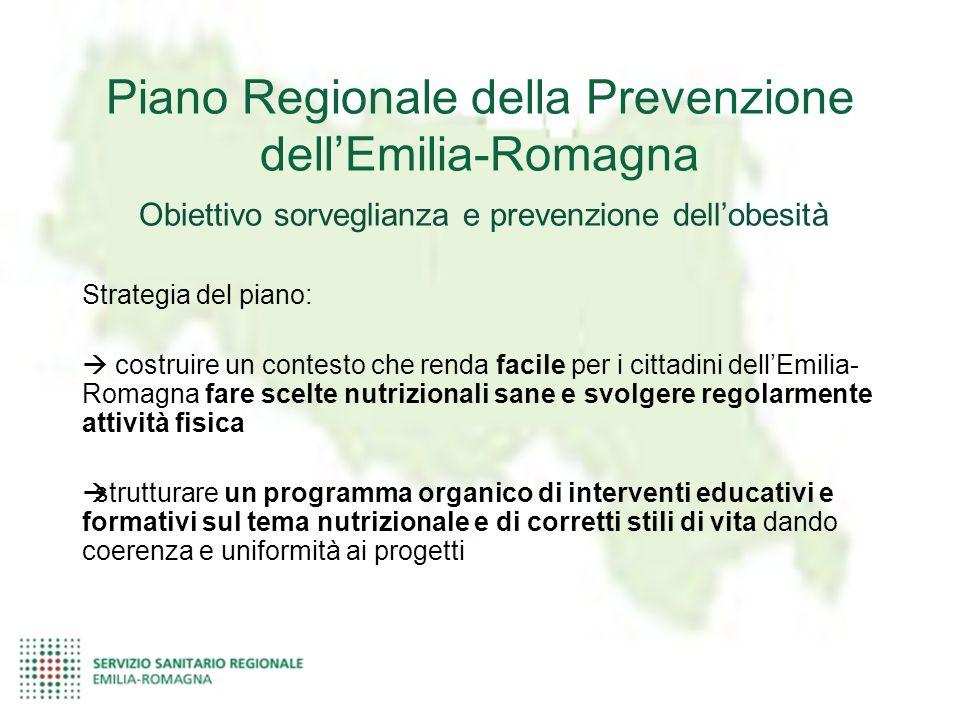 Piano Regionale della Prevenzione dell'Emilia-Romagna