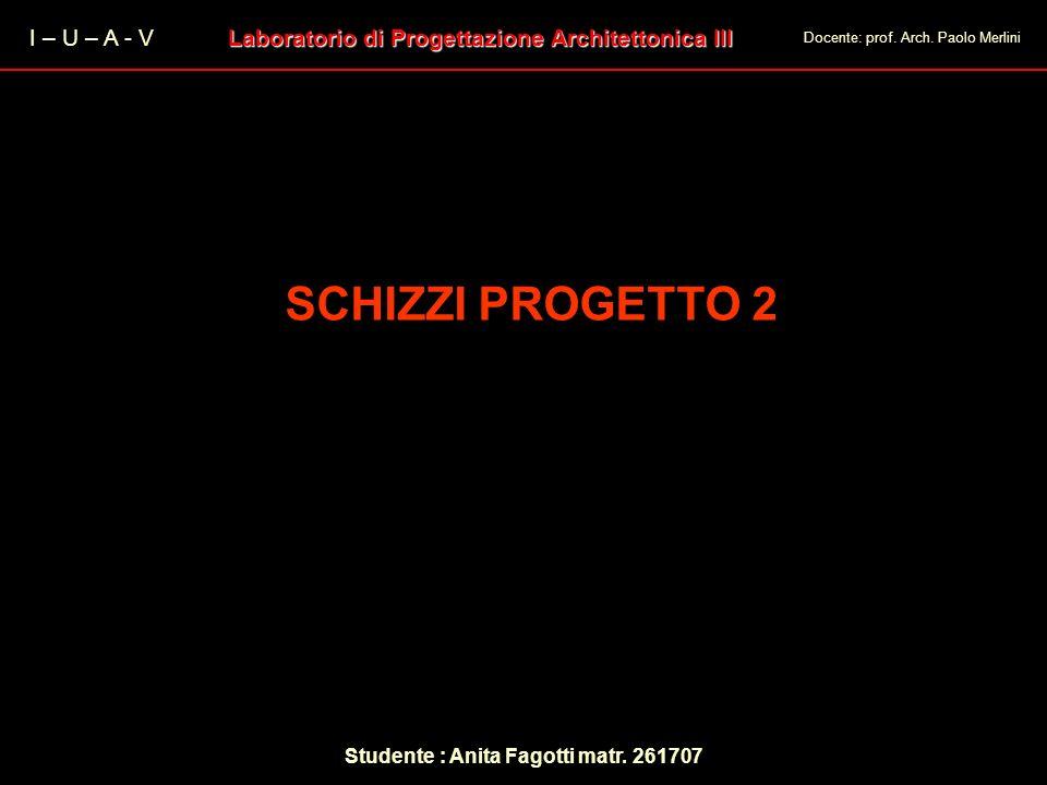 SCHIZZI PROGETTO 2 I – U – A - V