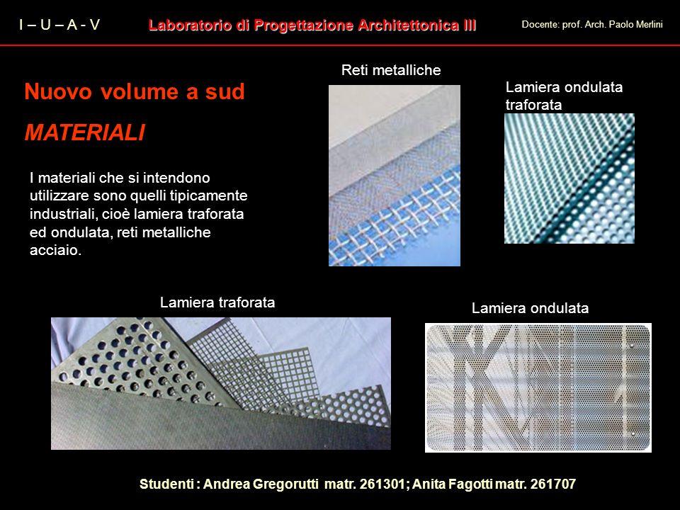 Laboratorio di Progettazione Architettonica III