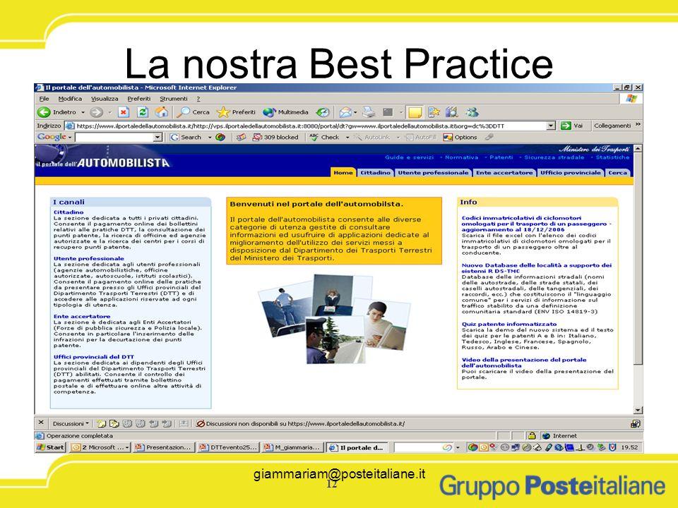 La nostra Best Practice