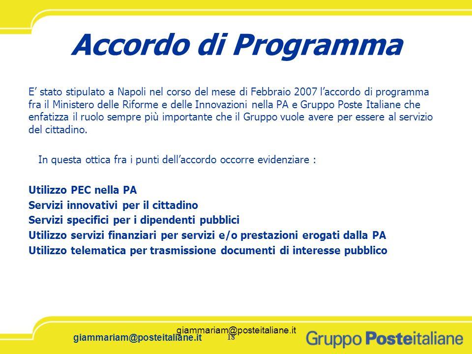 Accordo di Programma