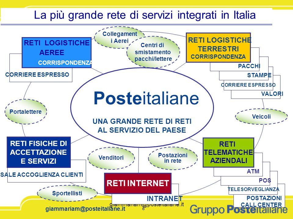 La più grande rete di servizi integrati in Italia