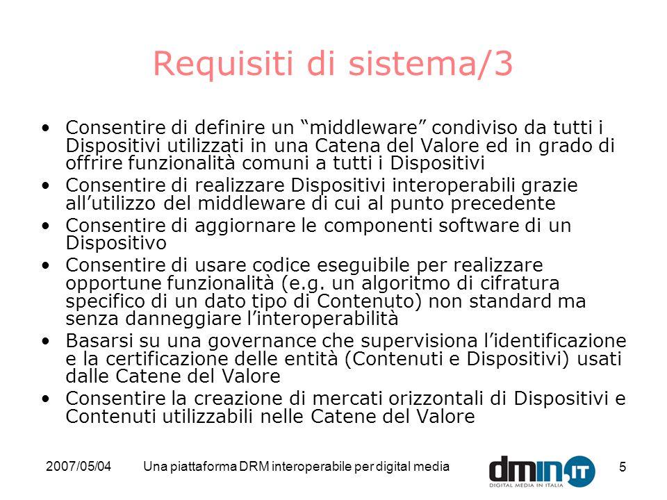 Una piattaforma DRM interoperabile per digital media