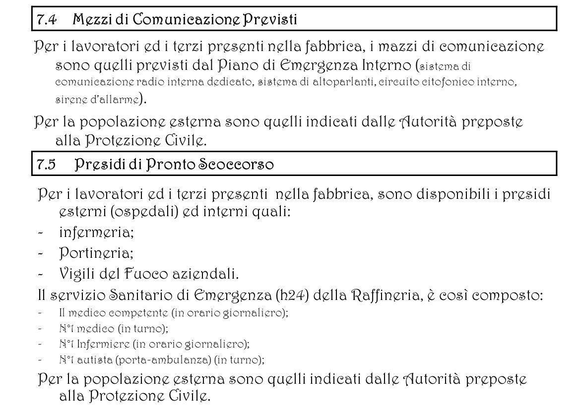 7.4 Mezzi di Comunicazione Previsti