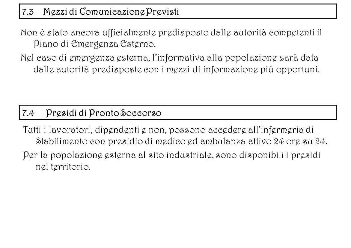 7.3 Mezzi di Comunicazione Previsti