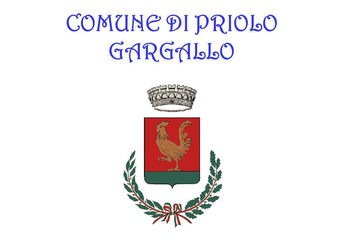 COMUNE DI PRIOLO GARGALLO