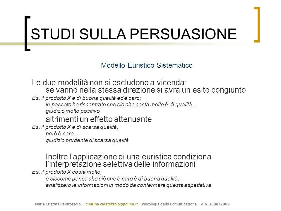 Modello Euristico-Sistematico