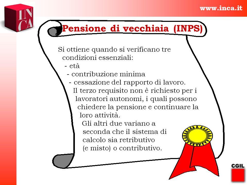 Pensione di vecchiaia (INPS)