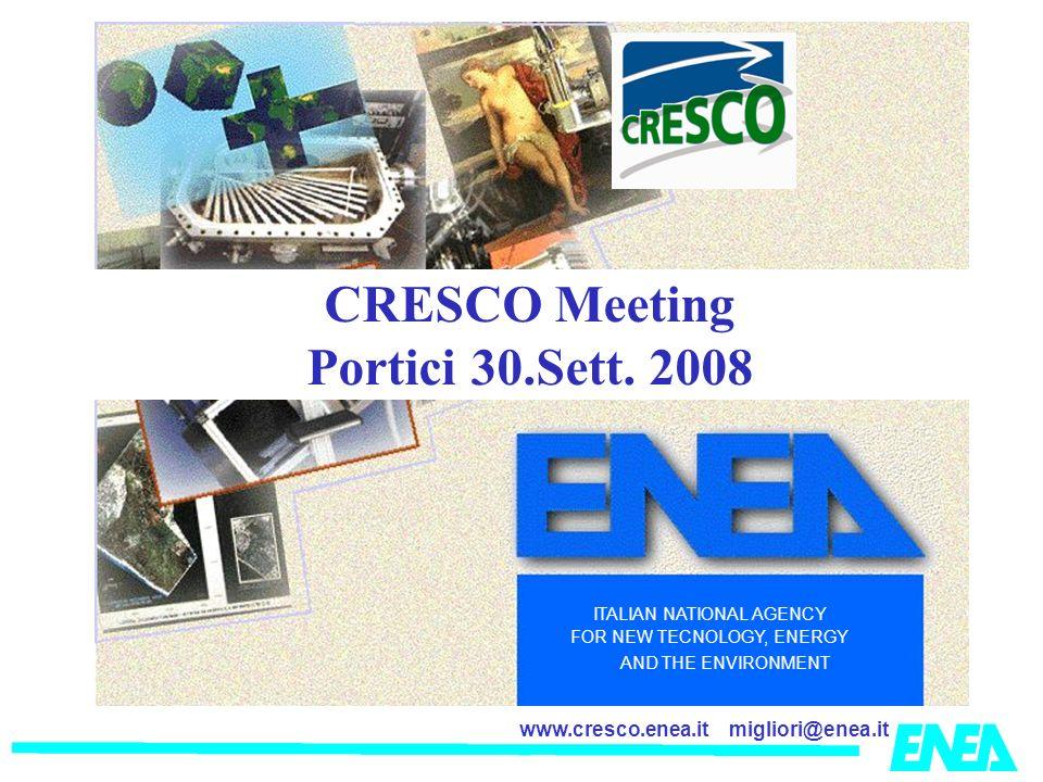 CRESCO Meeting Portici 30.Sett. 2008