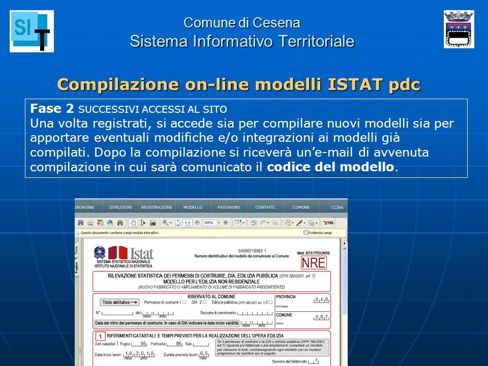 Comune di Cesena Sistema Informativo Territoriale