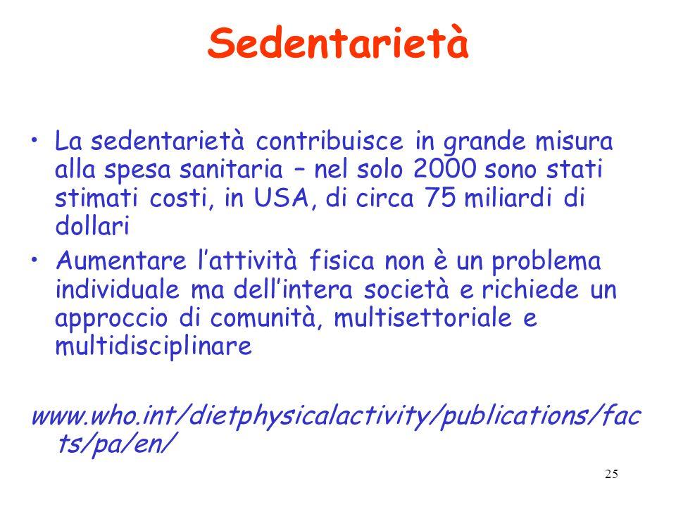 Sedentarietà