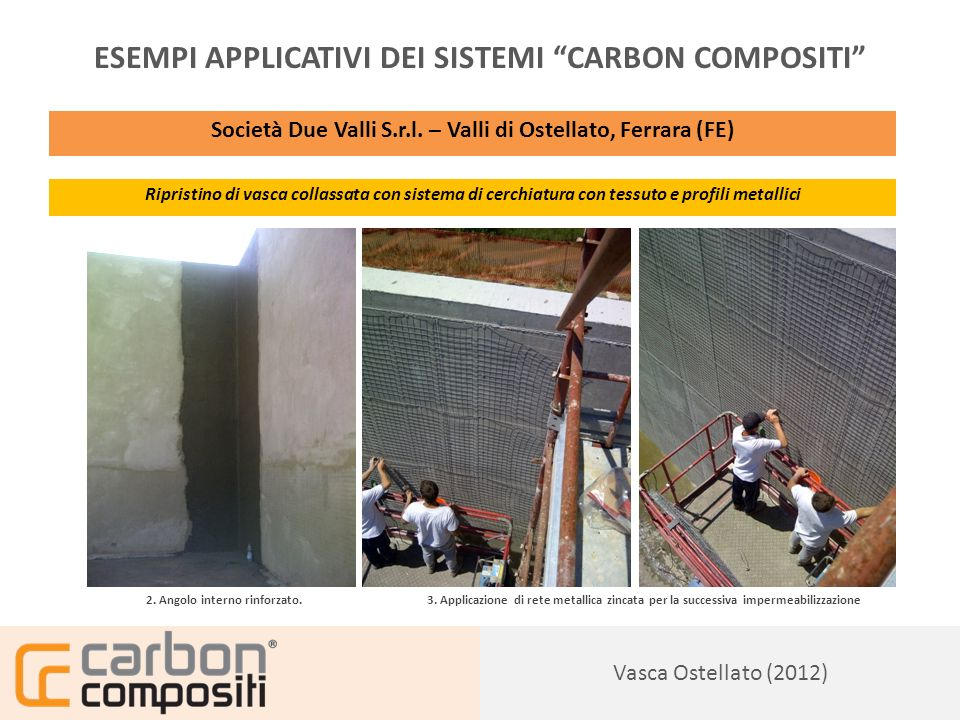 ESEMPI APPLICATIVI DEI SISTEMI CARBON COMPOSITI