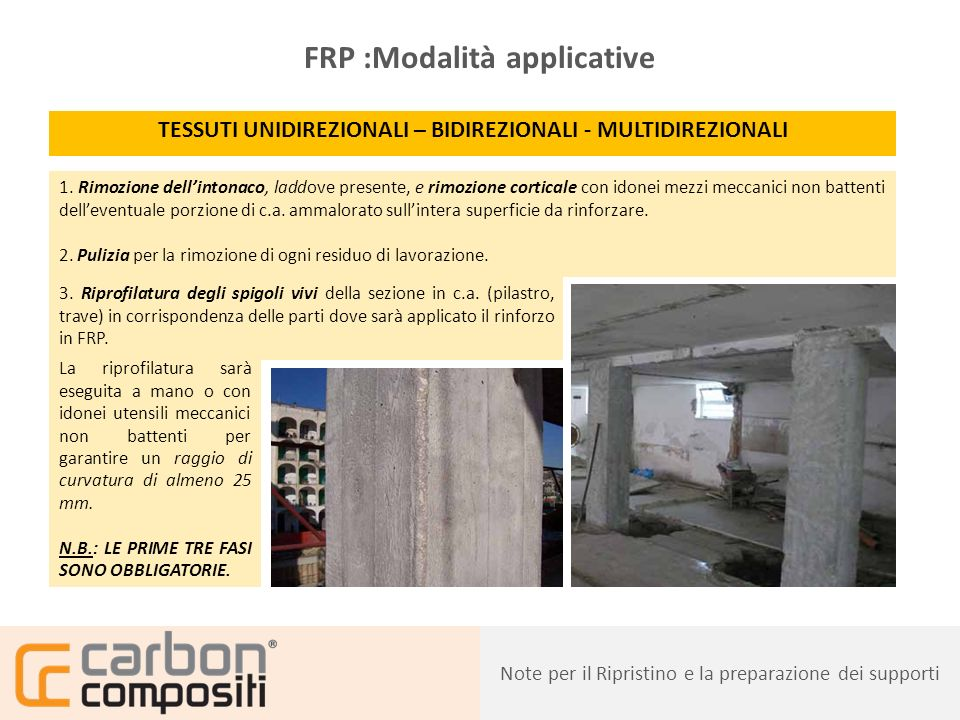 FRP :Modalità applicative