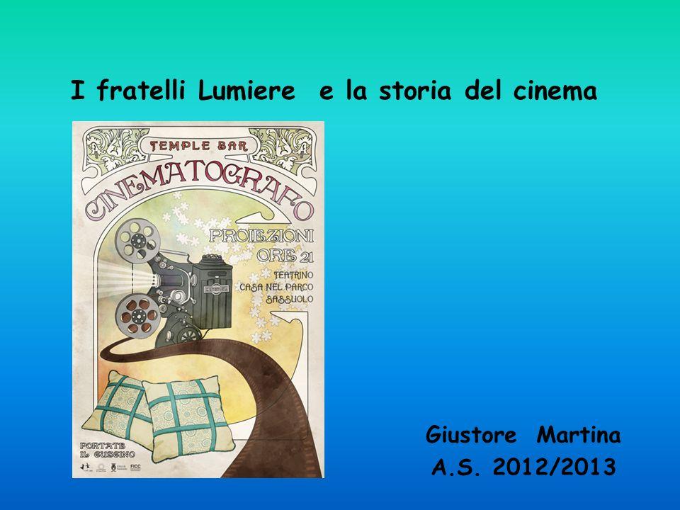 I fratelli Lumiere e la storia del cinema