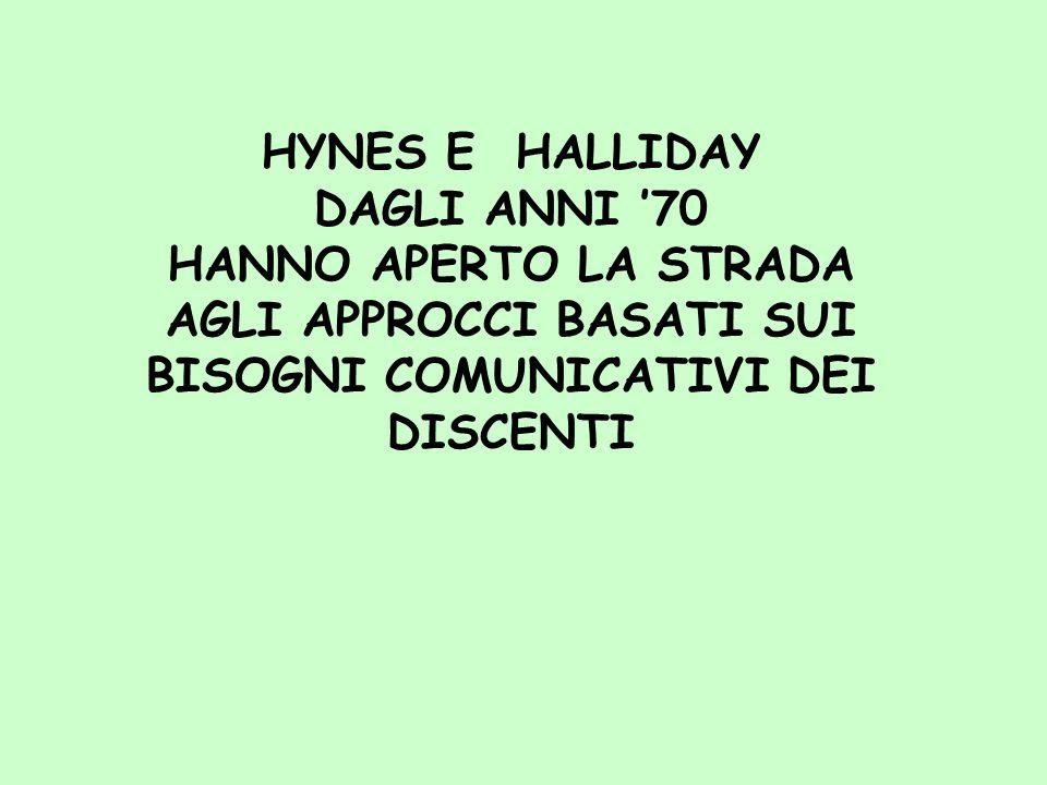 HYNES E HALLIDAY DAGLI ANNI '70.