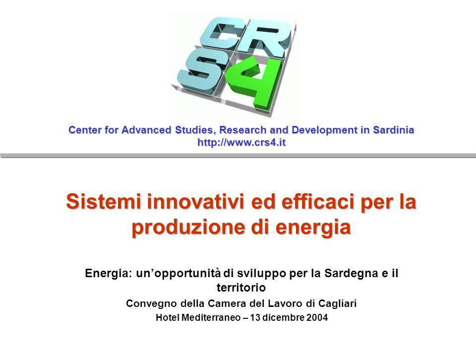 Sistemi innovativi ed efficaci per la produzione di energia