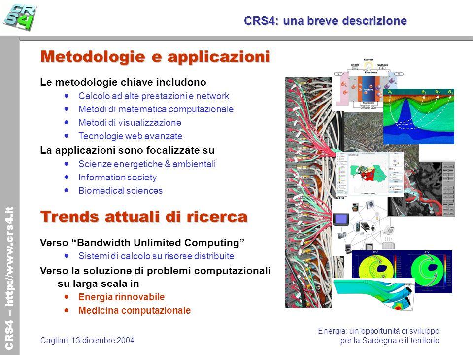 CRS4: una breve descrizione