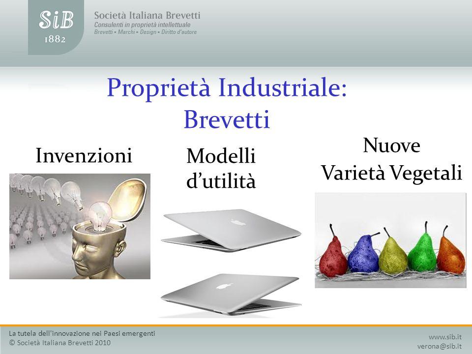 Proprietà Industriale: Brevetti