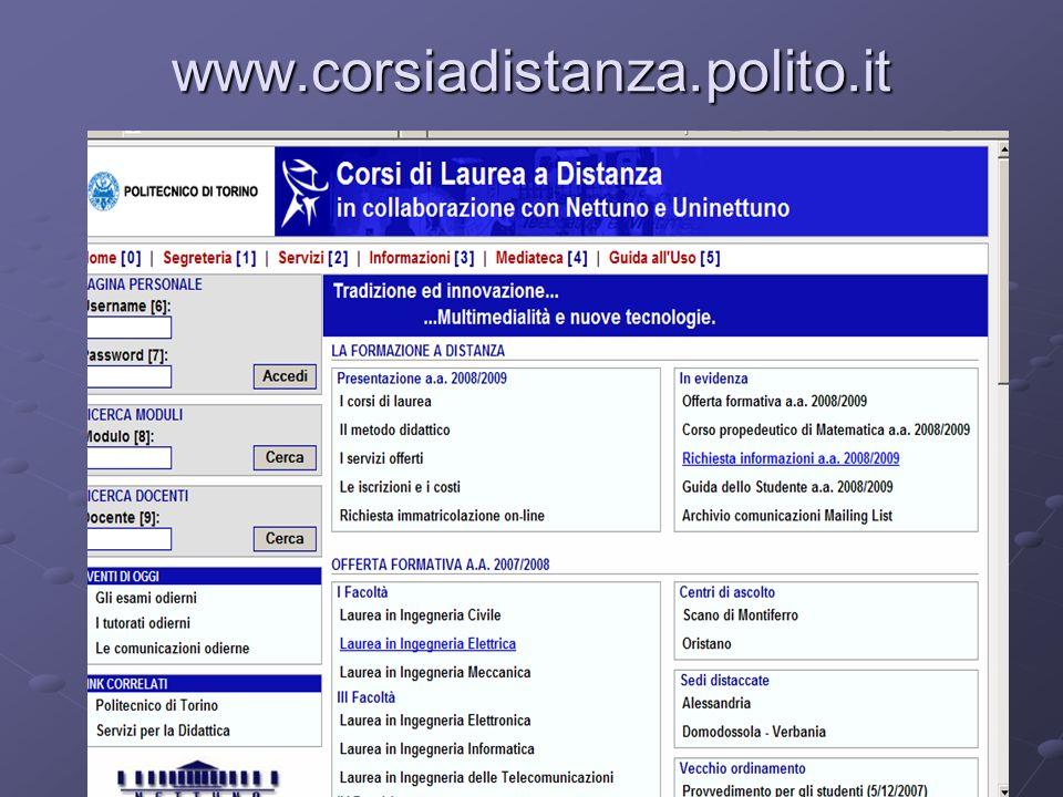 www.corsiadistanza.polito.it Paola Suria Arnaldi