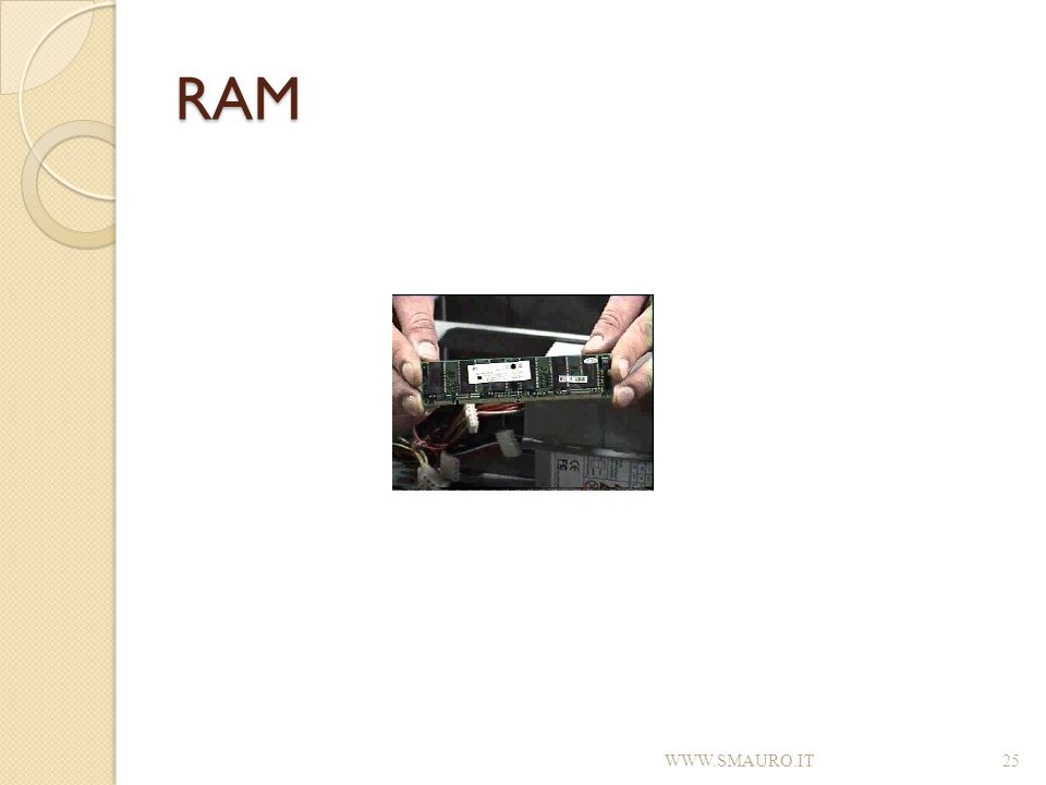 RAM WWW.SMAURO.IT