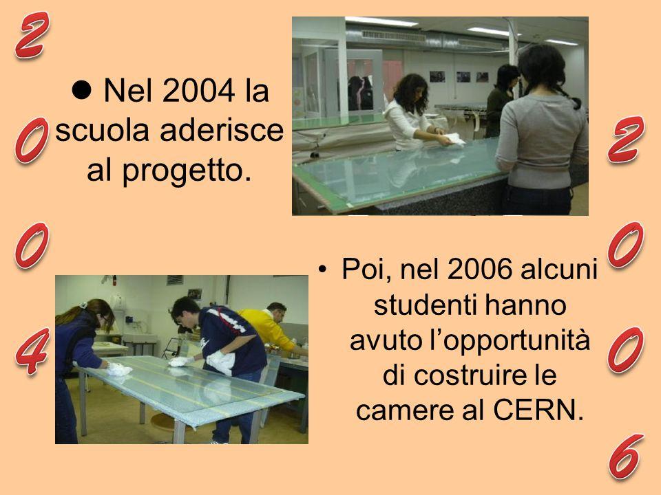 Nel 2004 la scuola aderisce al progetto.