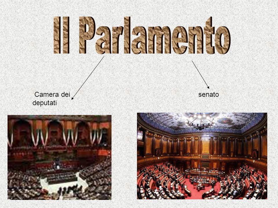 Il Parlamento Camera dei deputati senato