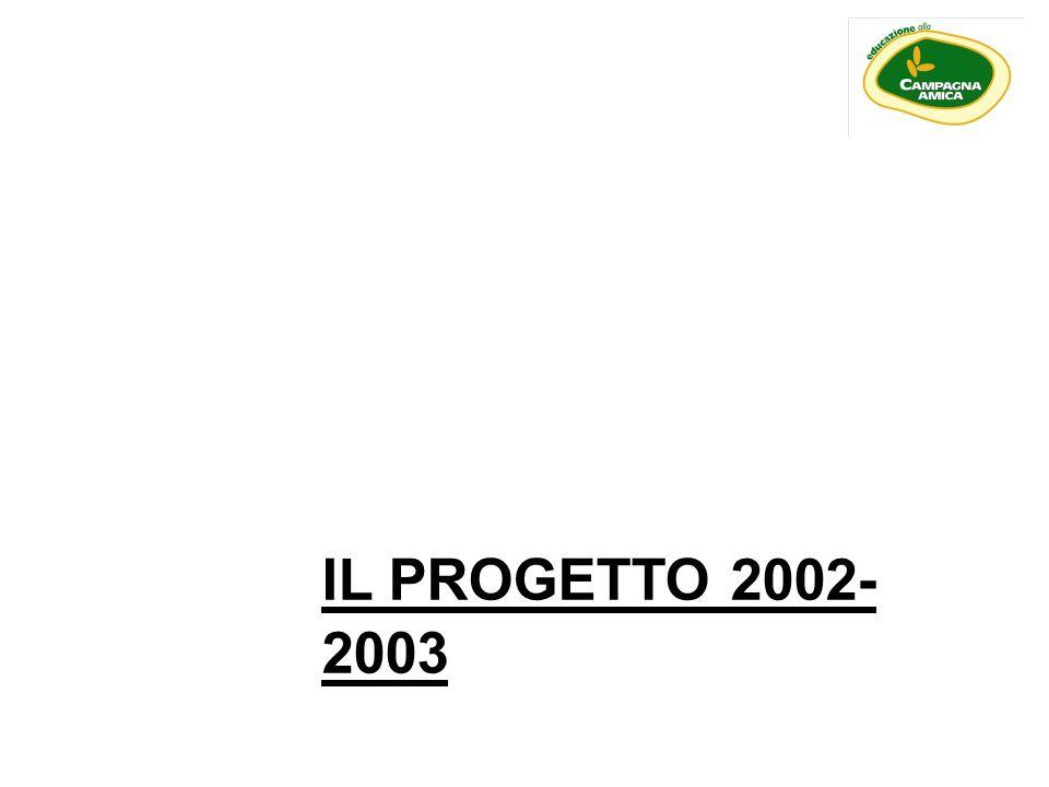IL PROGETTO 2002-2003